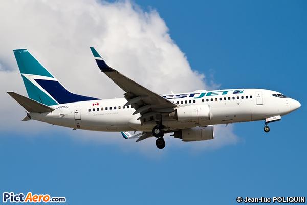 Boeing 737-7CT (WestJet Airlines)