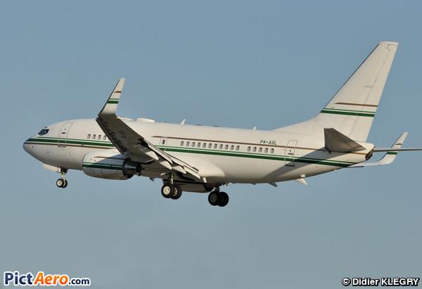 Boeing 737-7BH/BBJ (Arabasco Flight Operations)