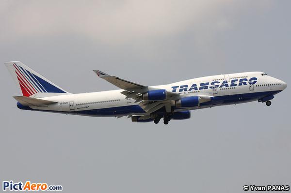 Boeing 747-444 (Transaero Airlines)