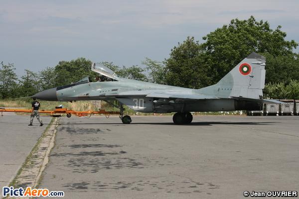 Mikoyan-Gurevich MiG-29A (Bulgaria - Air Force)
