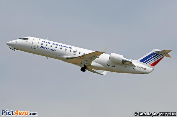 Bombardier CRJ-100ER (Brit Air)