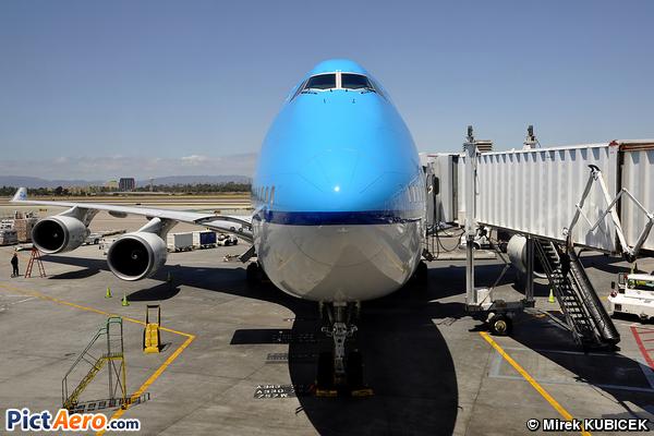 Boeing 747-406M (KLM Royal Dutch Airlines)