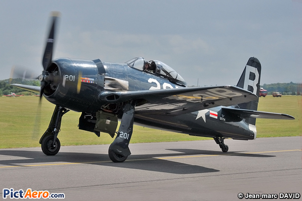 Grumman F8F-2P Bearcat (B & S Advertising Inc)