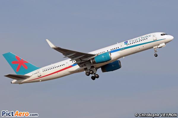 Boeing 757-28A (First Choice Airways (Thomson Airways))