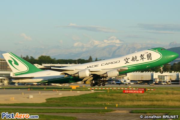 Boeing 747-4EVF/ER/SCD (Jade Cargo International)
