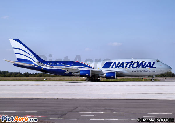 Boeing 747-428M (National Airlines)