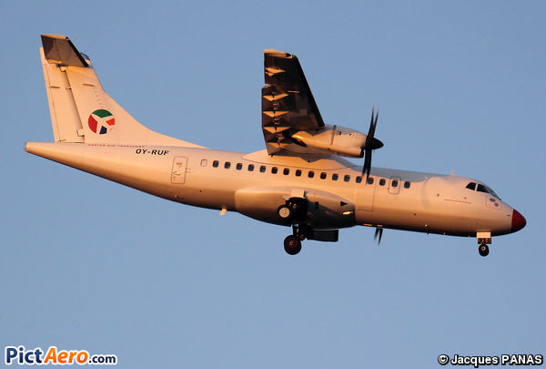 ATR 42-512 (Danish Air Transport (DAT))