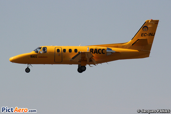 Cessna 501 Citation I/SP (RACC AMBULANCE)