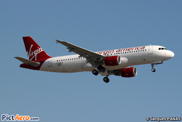 Airbus A320-214 (Virgin America)