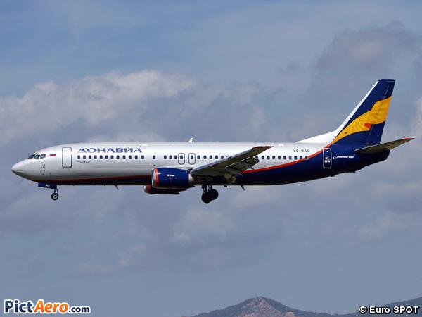 Boeing 737-4Q8 (Donavia)