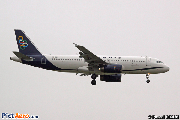 Airbus A320-214 (Olympic Air)