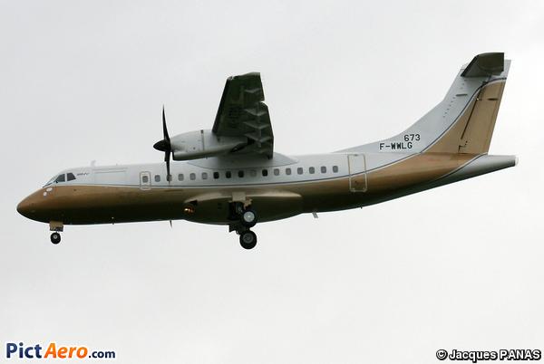 ATR 42-500 (Silk Way Airlines)