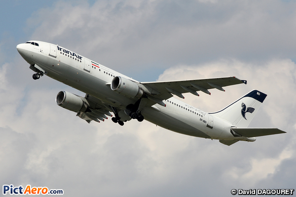 Airbus A300B4-605R (Iran Air)