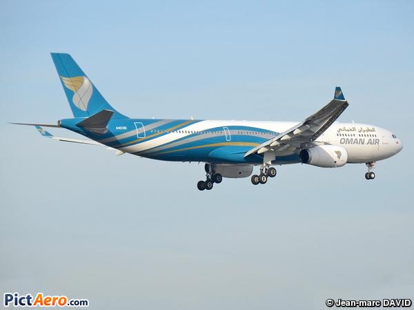 Airbus A330-343E (Oman Air)