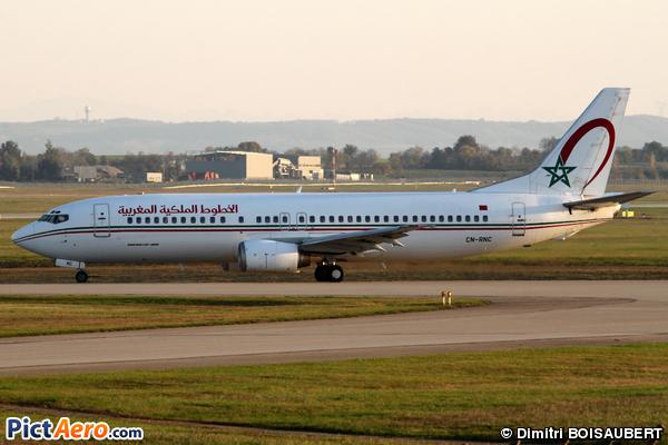 Boeing 737-4B6 (Royal Air Maroc (RAM))