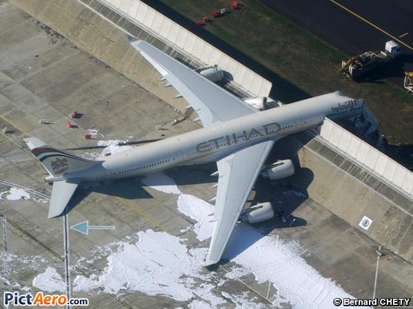 Airbus A340 642 F Wwcj Etihad Airways By Bernard Chety