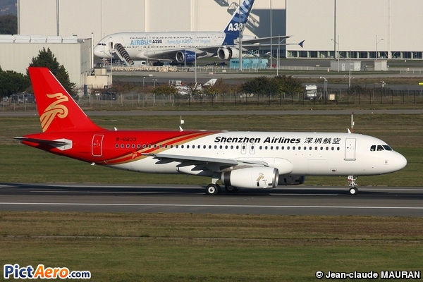 Airbus A320-214 (Shenzhen Airlines)
