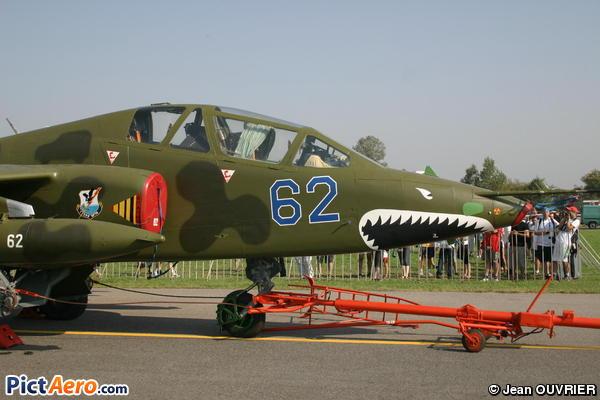 Sukhoi Su-25UB Frogfoot (Ukraine - Air Force)