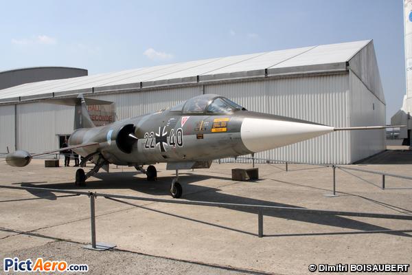 Lockheed (Messerschmitt) F-104G Starfighter (Germany - Air Force)