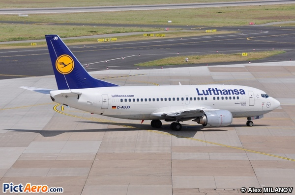 Boeing 737-530 (Lufthansa)
