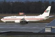 Boeing 737-8EX/BBJ2 (A6-AUH)