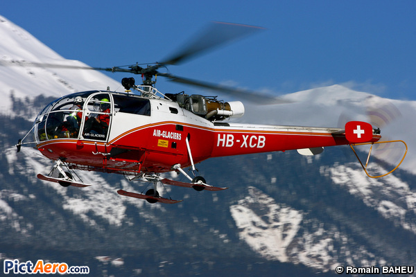 Aérospatiale SA-316B  (Air Glaciers)