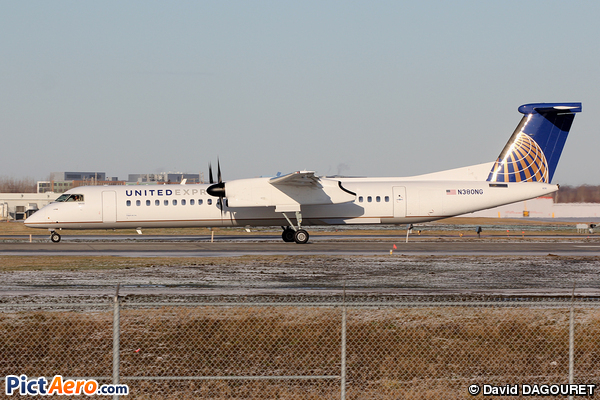 Bombardier Dash8-Q402 (United Express (Colgan Air))