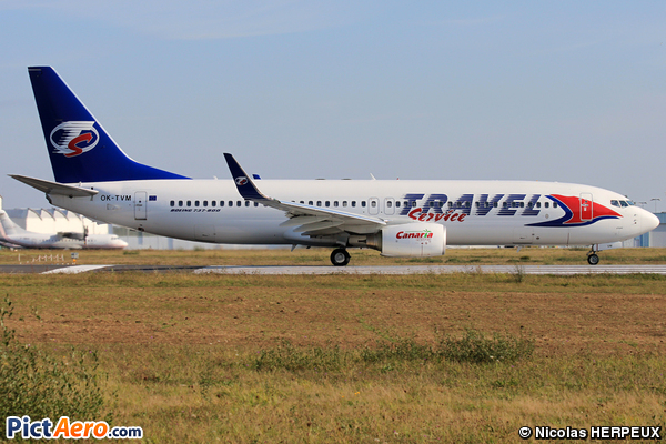 Boeing 737-8FN (Travel Service)