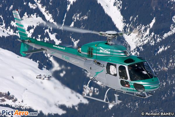 Aérospatiale AS-355N Ecureuil 2 (Skycam Hélicoptères)