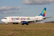 Boeing 737-322 (LY-AQX)