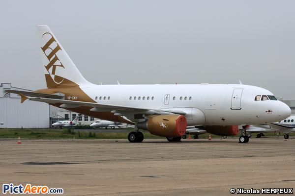Airbus A318-112/CJ Elite (Executive Jet Aviation)