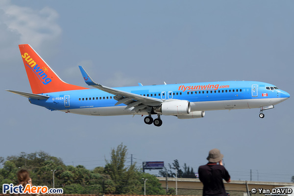 Boeing 737-8K5 (WL) (TUI Airways)