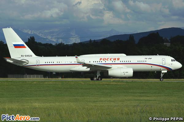 Tupolev Tu-214 (Russia - State Transport Company)