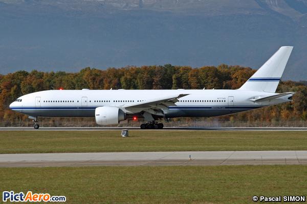 Boeing 777-24Q/ER (Mid East Jet)