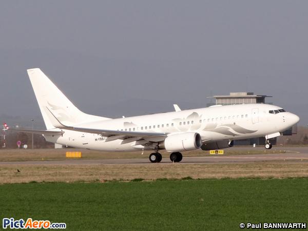 Boeing 737-7H/BBJ (Global Jet Austria)