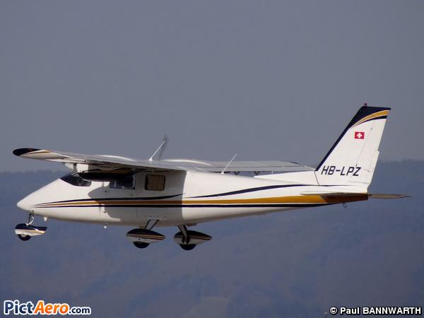 Partenavia P-68B (TROENDLE Pierre-Alain)