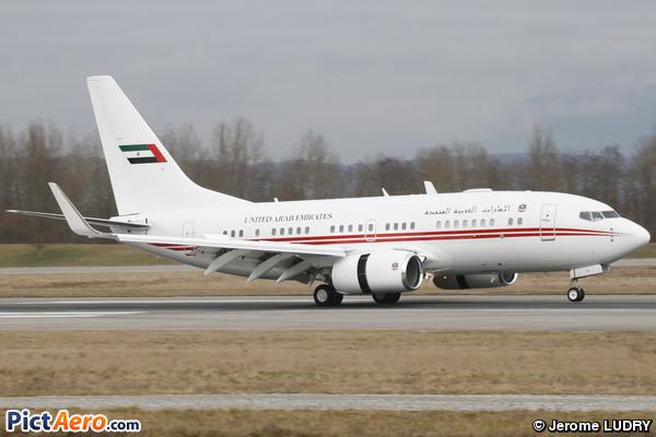 Boeing 737-7E0/BBJ (United Arab Emirates - Dubai Air Wing)