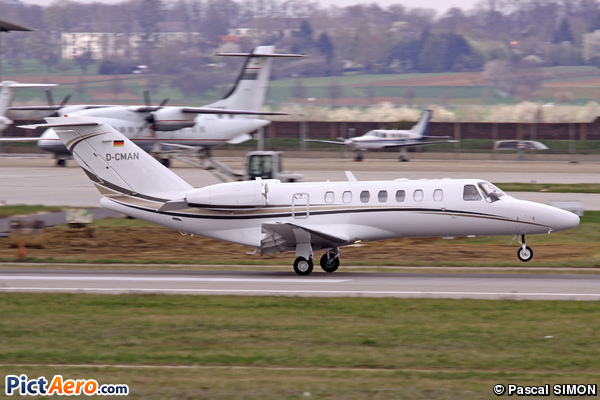 Cessna 525B Citation CJ3 (MZ Transporte)