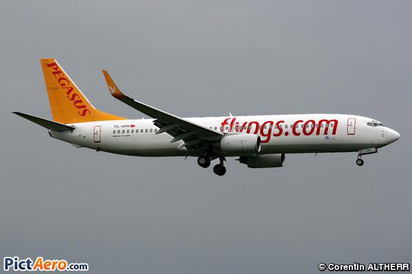 Boeing 737-8S3 (Pegasus Airlines)