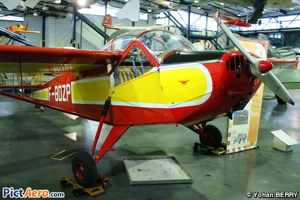 NC 858S (Musée Régional de l'Air)