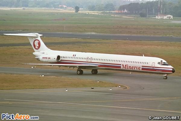 McDonnell Douglas MD-83 (DC-9-83) (Minerve)
