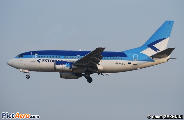 Boeing 737-5L9 (Estonian Air)