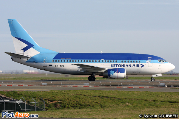 Boeing 737-5L9 (Estonian Air)