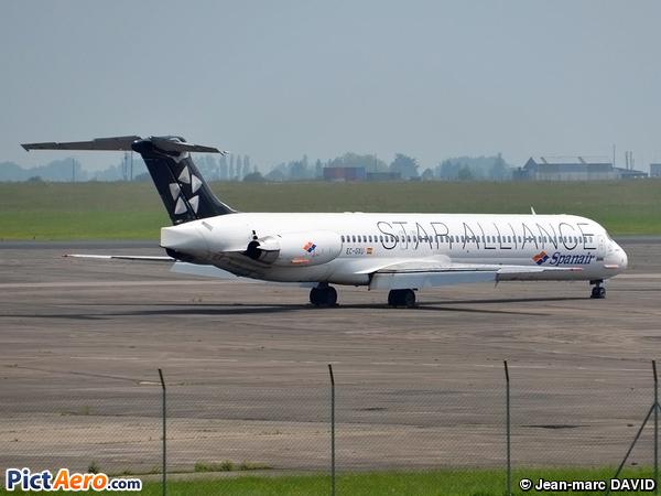 McDonnell Douglas MD-83 (DC-9-83) (Spanair)