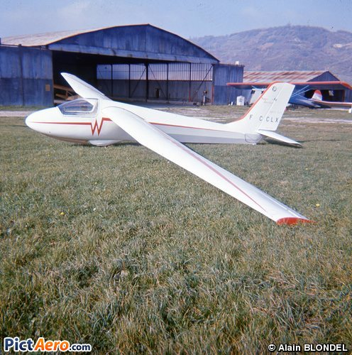 WA 22 Super Javelot (Centre savoyard de vol à voile alpin)