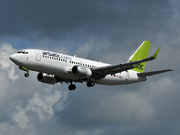 Boeing 737-36Q/WL (YL-BBX)