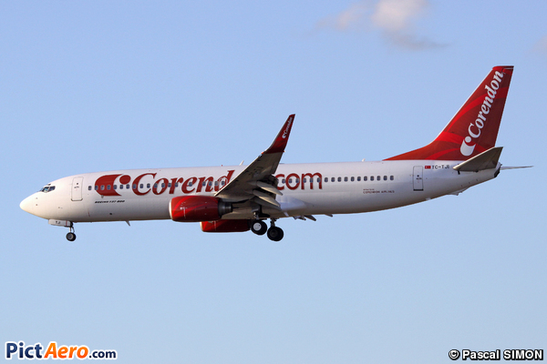 Boeing 737-8S3/WL (Corendon Airlines)