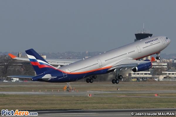 Airbus A330-343X (Aeroflot)