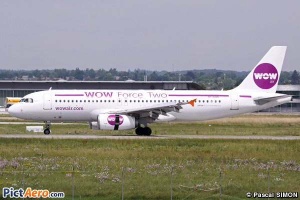 Airbus A320-231 (WoW Air)