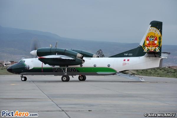 Antonov An-32B (Peru - Police)